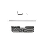 AR-15 Ejection Port Cover Assembly- American Flag Lasered
