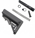 AR-15 SOPMOD BUTTSTOCK MIL SPEC W/ BUFFER TUBE KIT