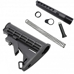 M-4 Mil Spec Collapsible Carbine Stock with Mil Spec Tube Kit