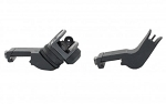 Tactical 45 Degree Offset Iron Sights Back Up Rapid Transition Gun Rifle BUIS