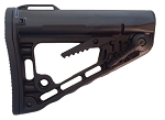 Rogers Super-Stoc Deluxe AR Collapsible Stock (w/ QD Port) - Made in U.S.A.