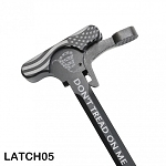 American Flag- Snake- Don't Tread On Me CHARGING HANDLE WITH OVERSIZED LATCH
