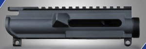 AR-15 Stripped Upper Receiver – No Forward Assist, No Dust Cover