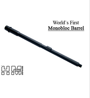 HM Defense Monobloc Barrel -Worlds First