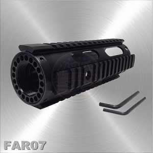 AR-15 Free Float Quad Rail Handguard Carbine Length 7""