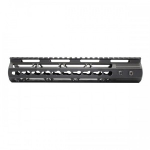 "NEW 10"" Super Slim Keymod handguard w/STEEL Barrel Nut"